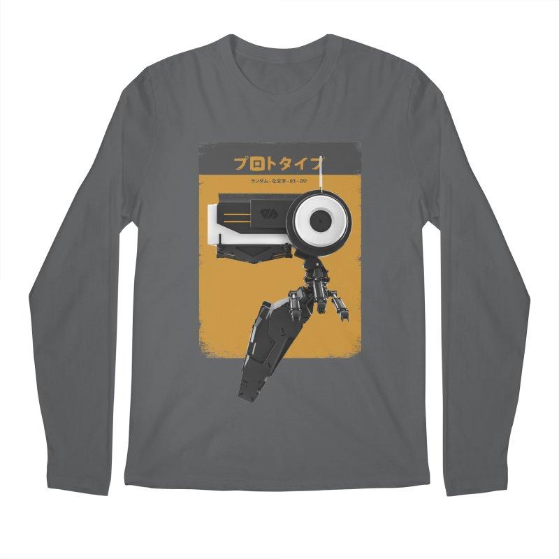 Prototype 03 Men's Longsleeve T-Shirt by AD Apparel