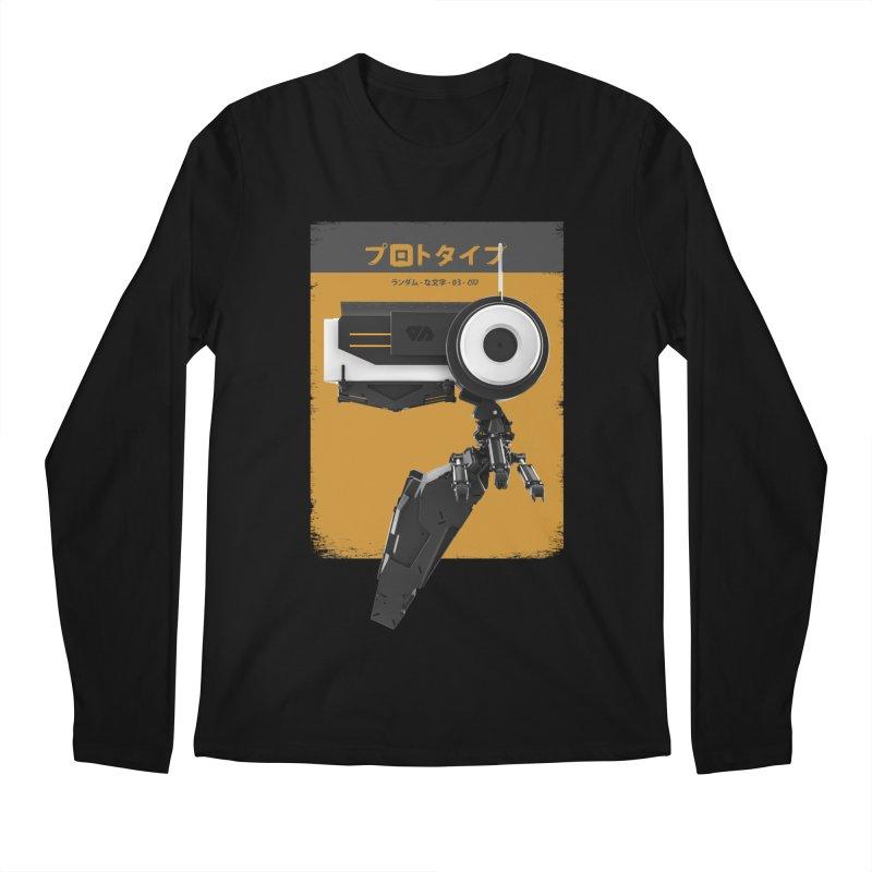 Prototype 03 Men's Regular Longsleeve T-Shirt by AD Apparel