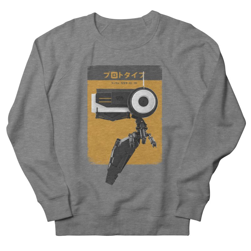 Prototype 03 Women's French Terry Sweatshirt by AD Apparel