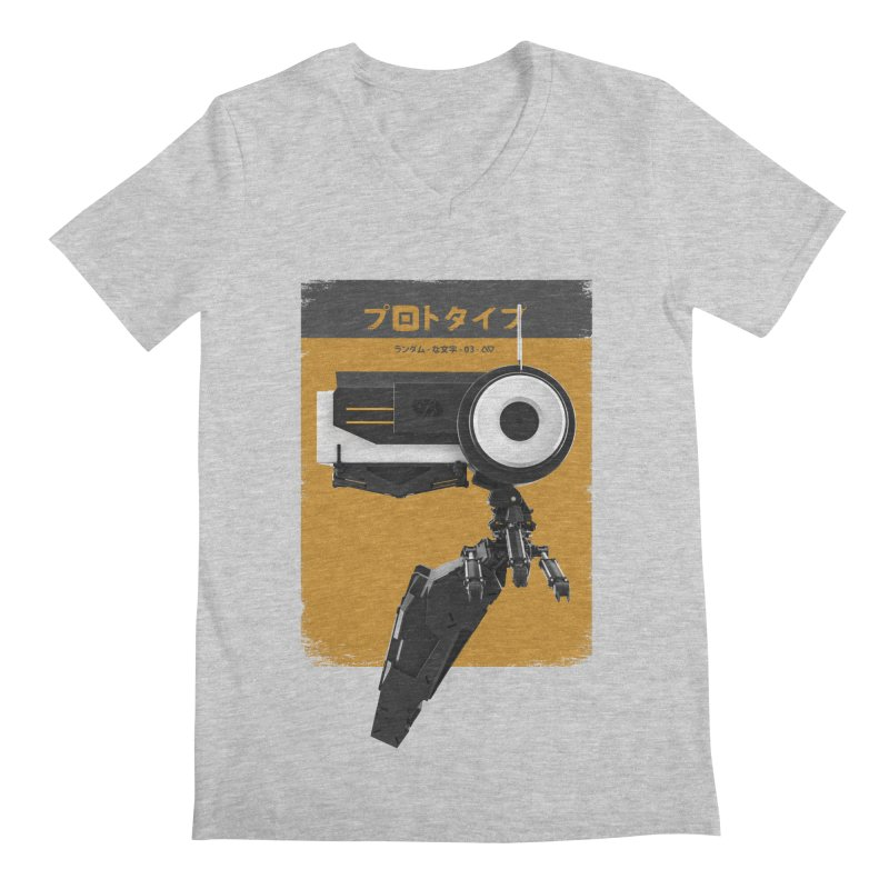 Prototype 03 Men's V-Neck by AD Apparel