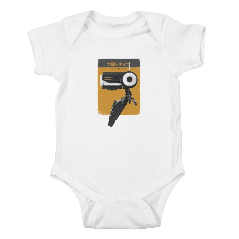 Prototype 03 Kids Baby Bodysuit by AD Apparel