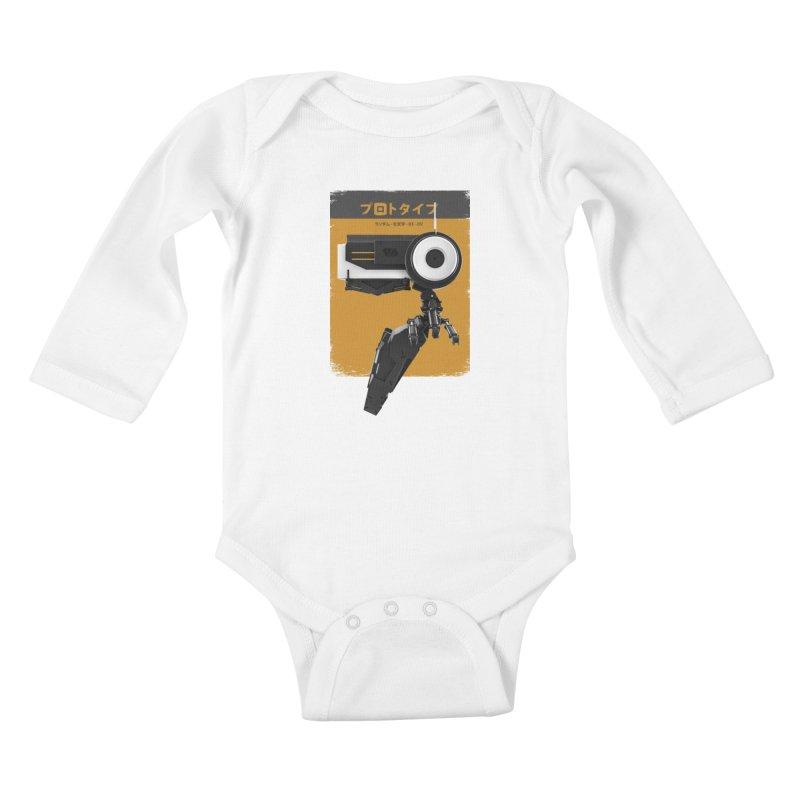 Prototype 03 Kids Baby Longsleeve Bodysuit by AD Apparel