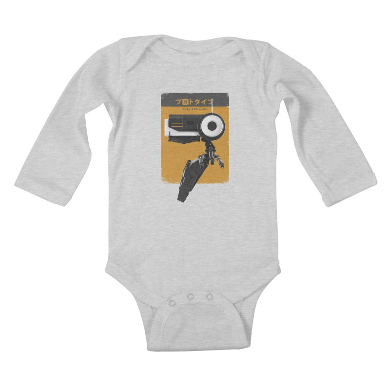 Prototype 03 Kids Baby Longsleeve Bodysuit by AD Apparel