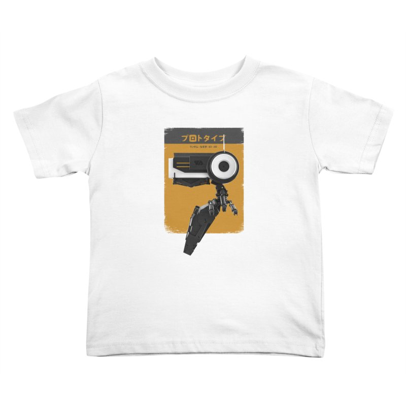 Prototype 03 Kids Toddler T-Shirt by AD Apparel