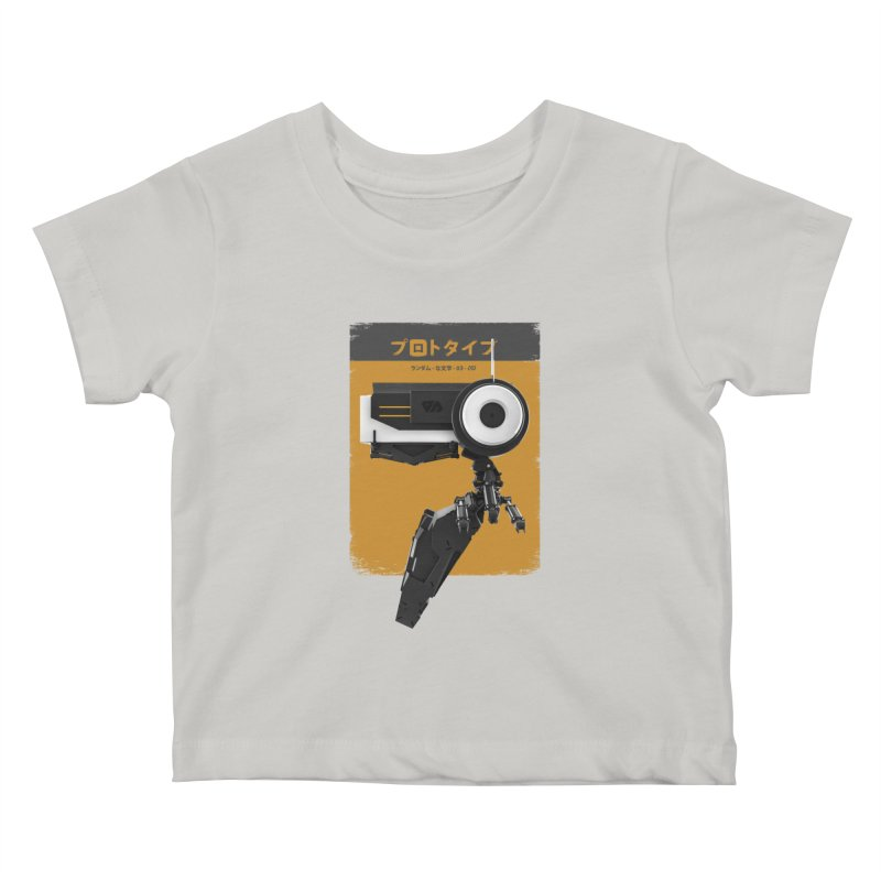 Prototype 03 Kids Baby T-Shirt by AD Apparel