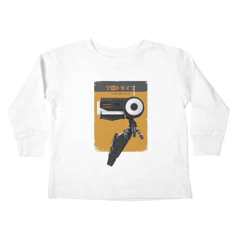 Prototype 03 Kids Toddler Longsleeve T-Shirt by AD Apparel