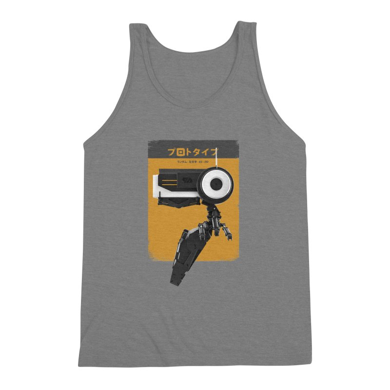Prototype 03 Men's Triblend Tank by AD Apparel