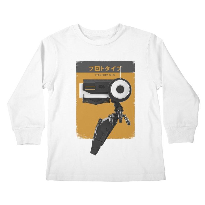 Prototype 03 Kids Longsleeve T-Shirt by AD Apparel