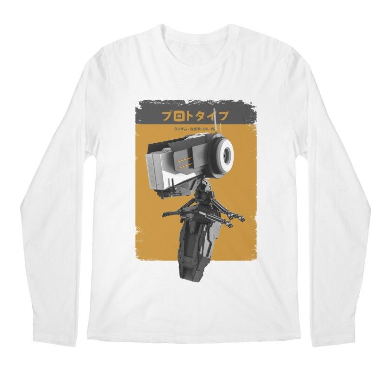 Prototype 04 Men's Regular Longsleeve T-Shirt by AD Apparel