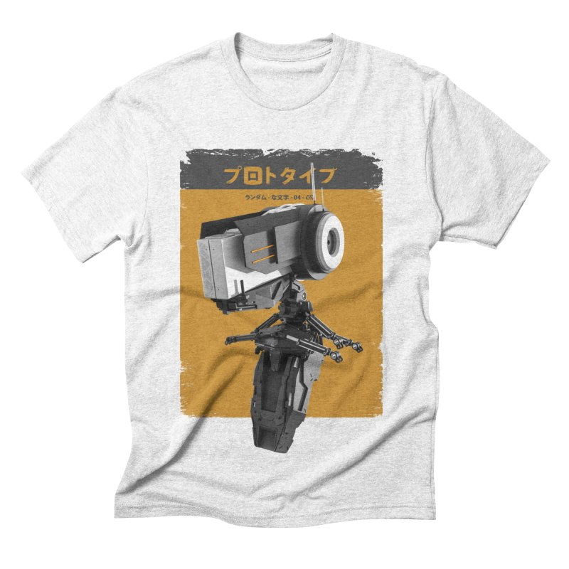 Prototype 04 Men's Triblend T-shirt by AD Apparel