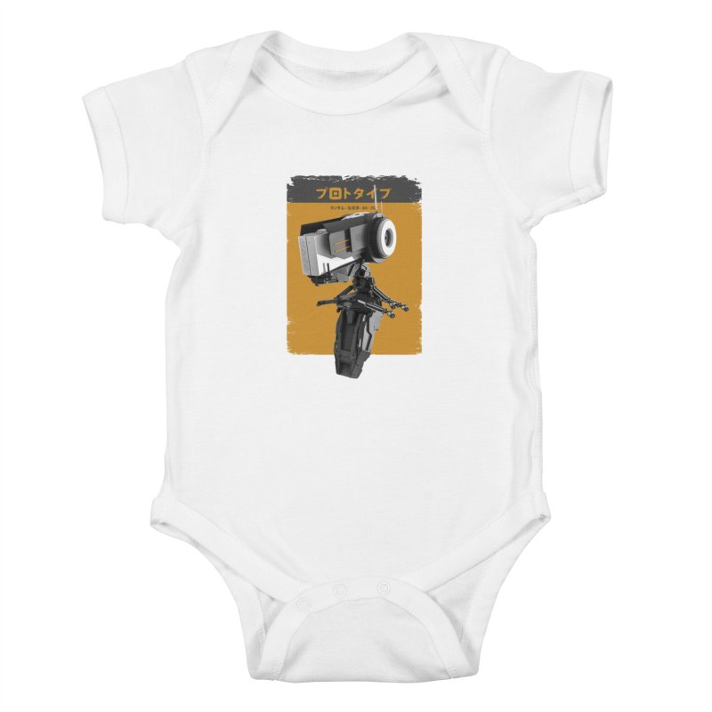 Prototype 04 Kids Baby Bodysuit by AD Apparel