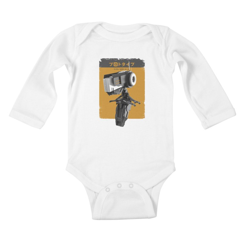 Prototype 04 Kids Baby Longsleeve Bodysuit by AD Apparel