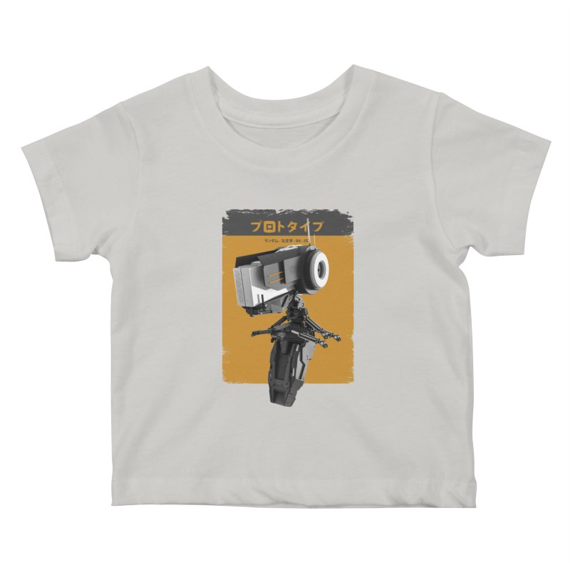 Prototype 04 Kids Baby T-Shirt by AD Apparel