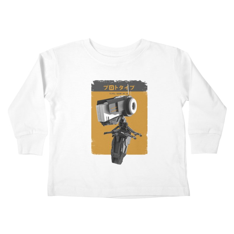 Prototype 04 Kids Toddler Longsleeve T-Shirt by AD Apparel