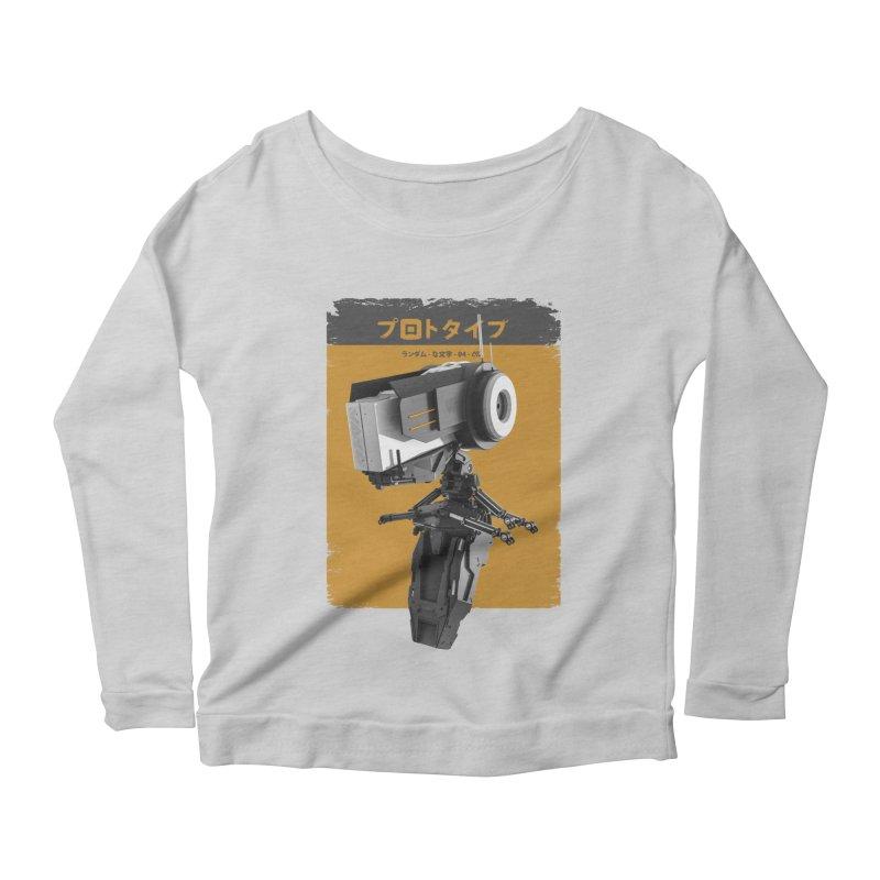 Prototype 04 Women's Scoop Neck Longsleeve T-Shirt by AD Apparel