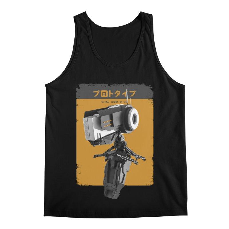 Prototype 04 Men's Regular Tank by AD Apparel