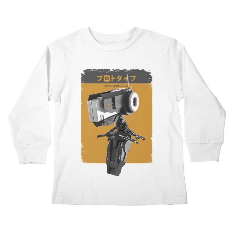 Prototype 04 Kids Longsleeve T-Shirt by AD Apparel