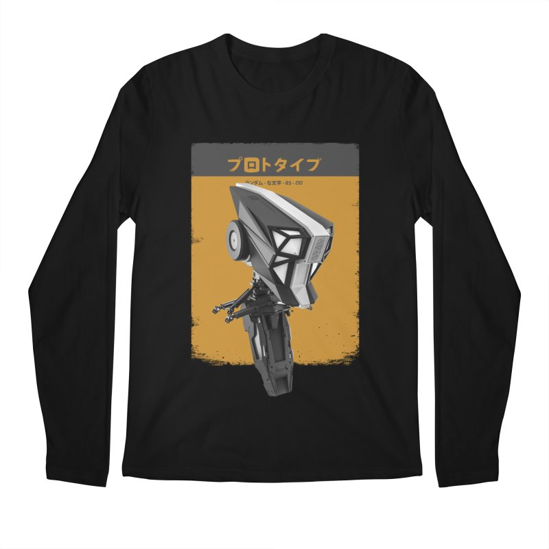Prototype 05 Men's Longsleeve T-Shirt by AD Apparel