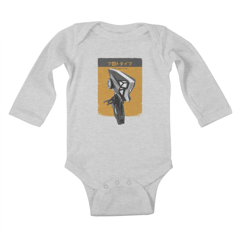 Prototype 05 Kids Baby Longsleeve Bodysuit by AD Apparel