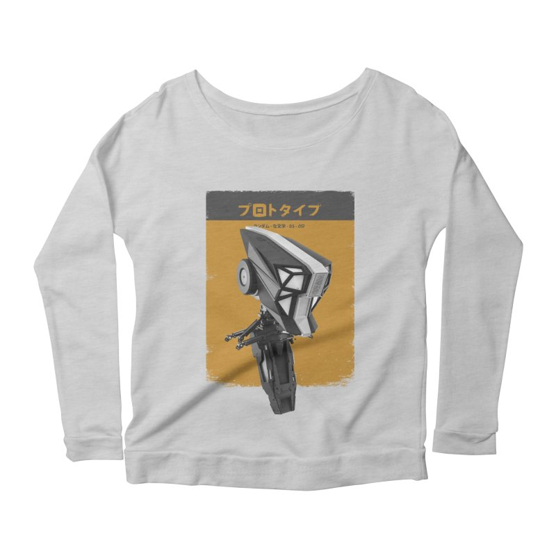 Prototype 05 Women's Scoop Neck Longsleeve T-Shirt by AD Apparel