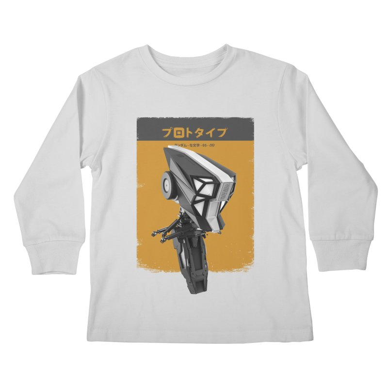 Prototype 05 Kids Longsleeve T-Shirt by AD Apparel