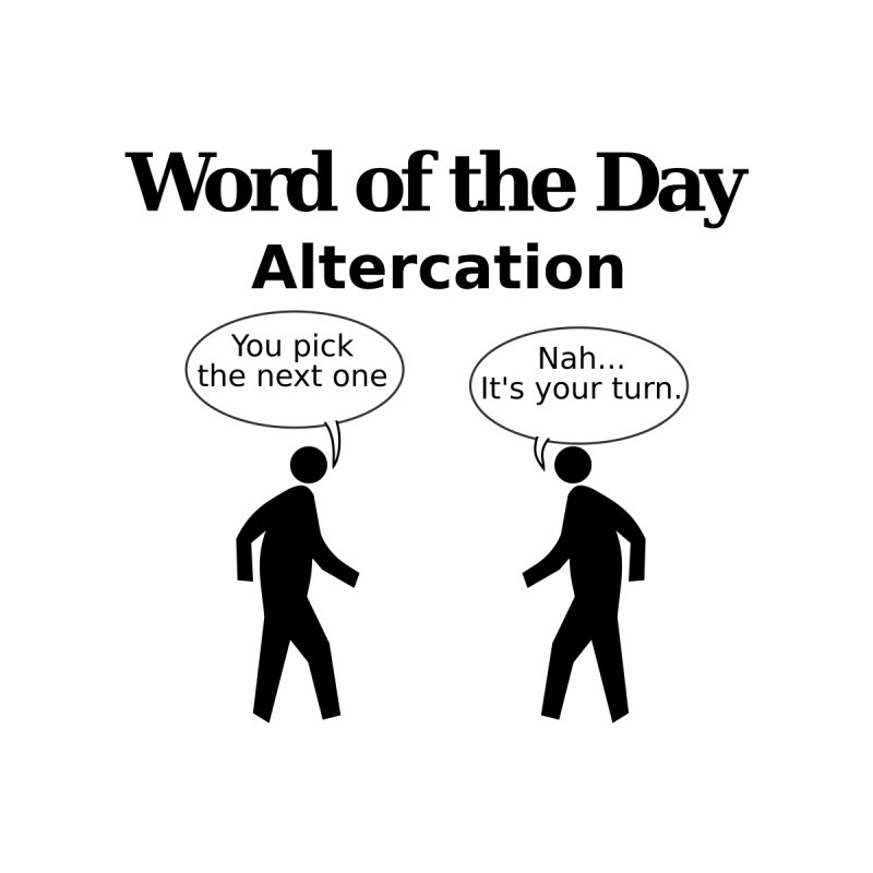 Word of the Day T-Shirt by algot's Artist Shop