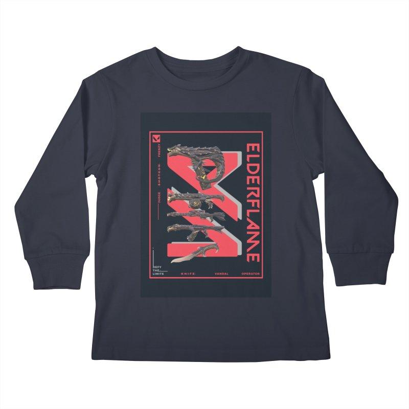 ELDERFLAME WEAPON Kids Longsleeve T-Shirt by ALGS's Artist Shop
