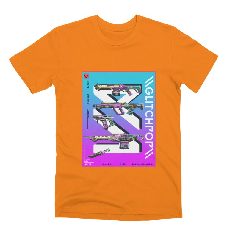 GLITCHPOP WEAPON Men's T-Shirt by ALGS's Artist Shop