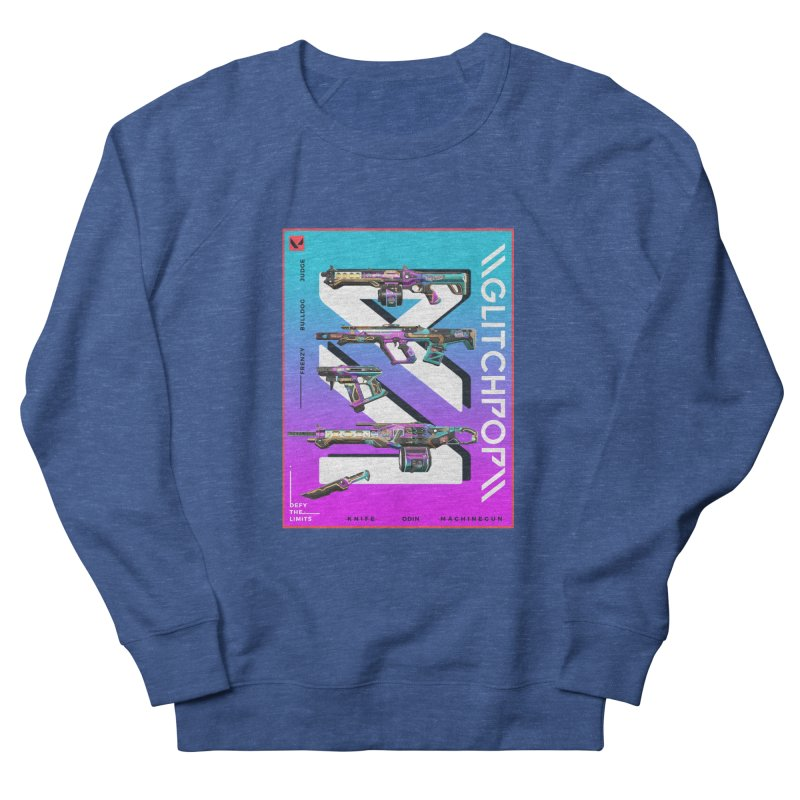 GLITCHPOP WEAPON Men's Sweatshirt by ALGS's Artist Shop