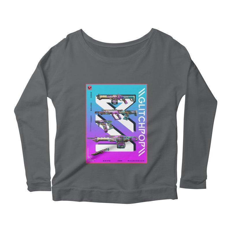 GLITCHPOP WEAPON Women's Longsleeve T-Shirt by ALGS's Artist Shop