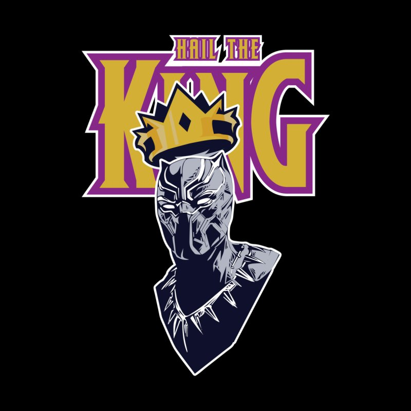 HAIL THE KING Men's T-Shirt by ALGS's Artist Shop