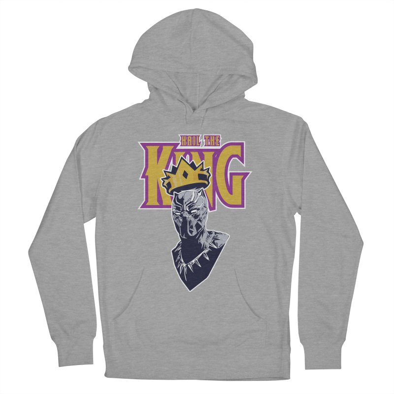 HAIL THE KING Women's French Terry Pullover Hoody by ALGS's Artist Shop
