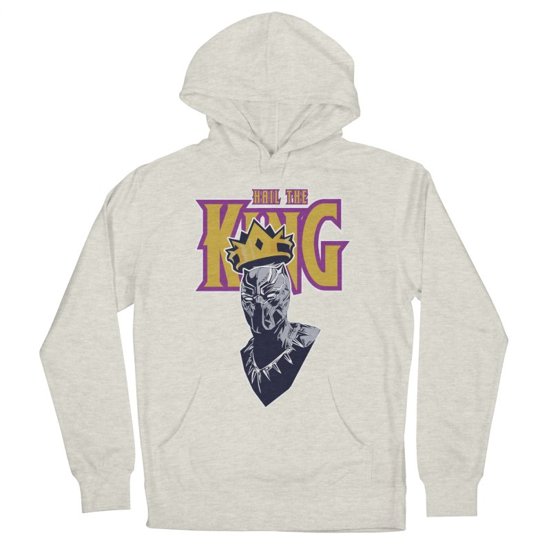 HAIL THE KING Women's Pullover Hoody by ALGS's Artist Shop