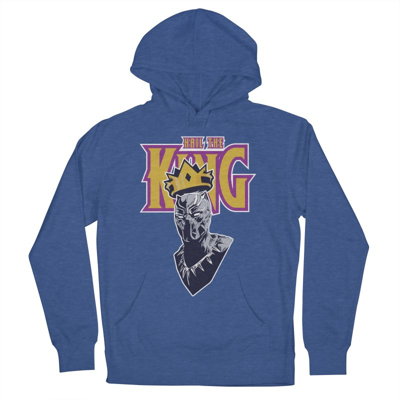 HAIL THE KING Men's French Terry Pullover Hoody by ALGS's Artist Shop