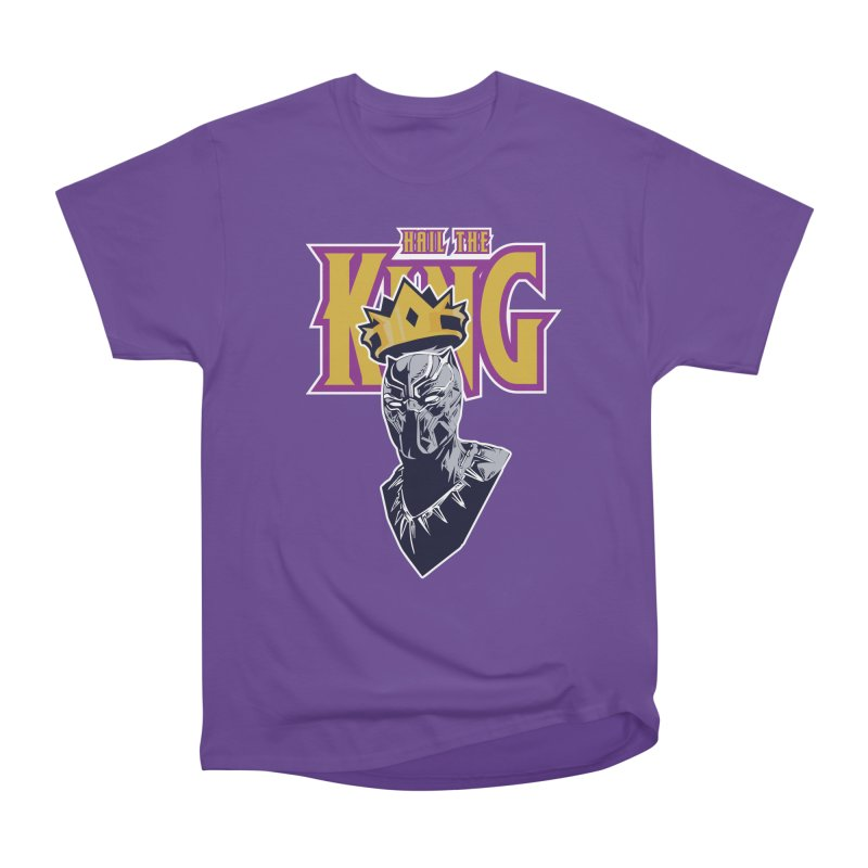 HAIL THE KING Men's Heavyweight T-Shirt by ALGS's Artist Shop