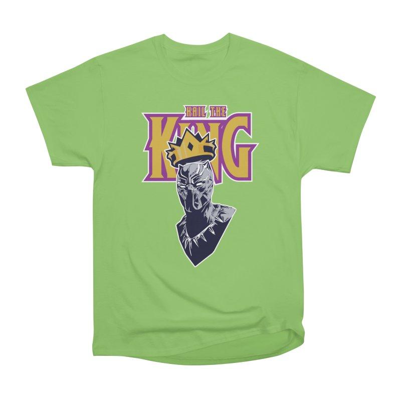 HAIL THE KING Men's Heavyweight T-Shirt by ALGS's Artist Shop