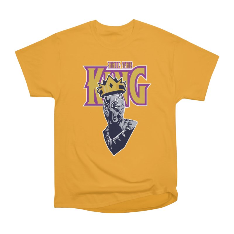 HAIL THE KING Women's Heavyweight Unisex T-Shirt by ALGS's Artist Shop