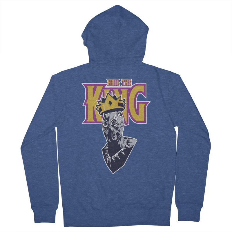 HAIL THE KING Women's Zip-Up Hoody by ALGS's Artist Shop