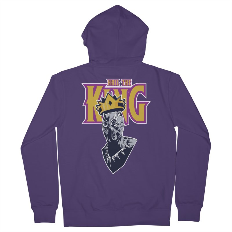 HAIL THE KING Women's French Terry Zip-Up Hoody by ALGS's Artist Shop