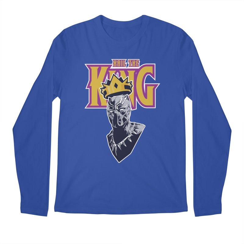HAIL THE KING Men's Regular Longsleeve T-Shirt by ALGS's Artist Shop