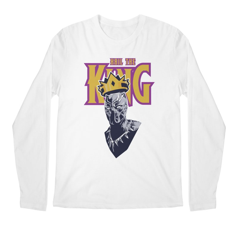 HAIL THE KING Men's Longsleeve T-Shirt by ALGS's Artist Shop