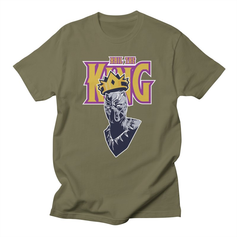 HAIL THE KING Women's Regular Unisex T-Shirt by ALGS's Artist Shop