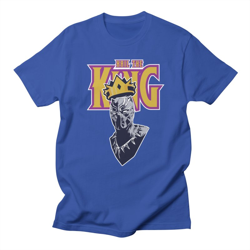 HAIL THE KING Men's Regular T-Shirt by ALGS's Artist Shop