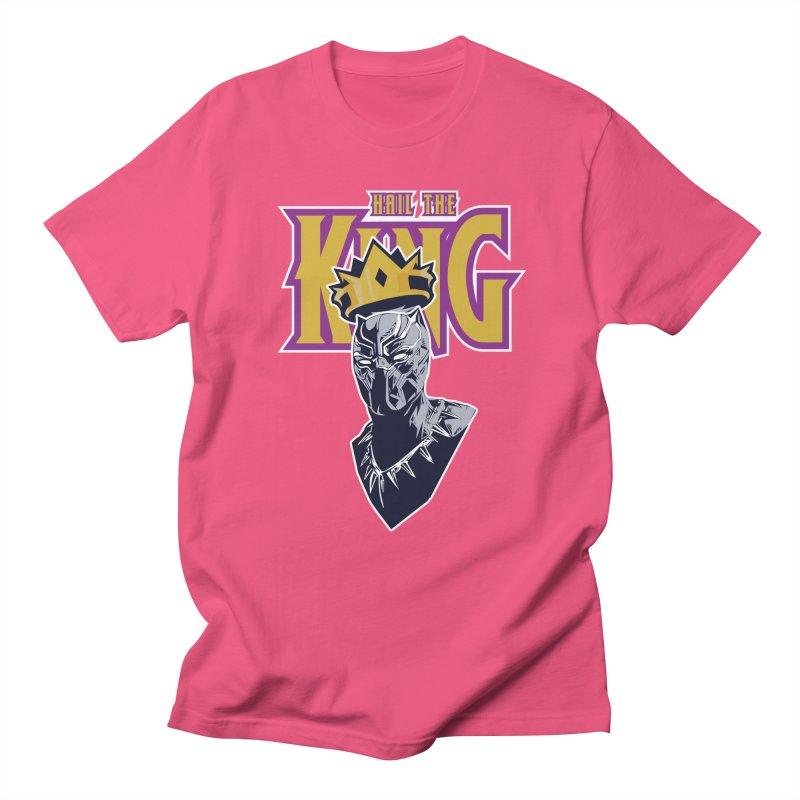 HAIL THE KING Women's Regular Unisex T-Shirt by ALGS's Artist Shop