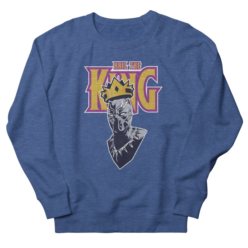 HAIL THE KING Men's French Terry Sweatshirt by ALGS's Artist Shop