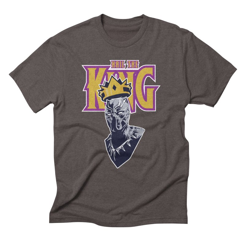 HAIL THE KING Men's Triblend T-Shirt by ALGS's Artist Shop