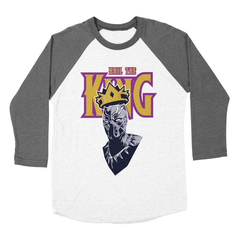 HAIL THE KING Women's Baseball Triblend T-Shirt by ALGS's Artist Shop