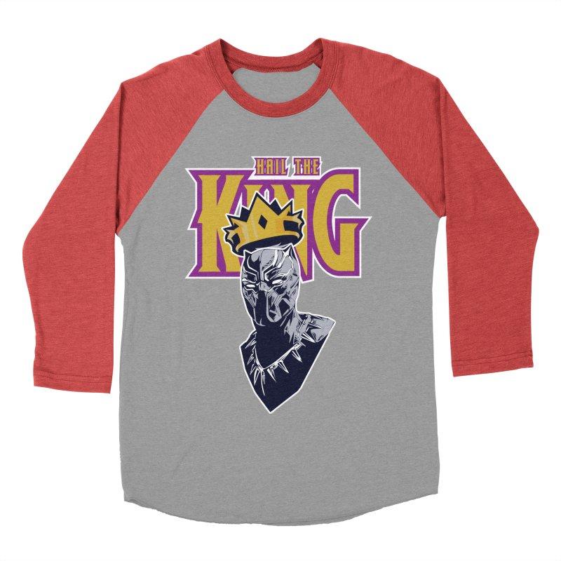 HAIL THE KING Men's Baseball Triblend T-Shirt by ALGS's Artist Shop