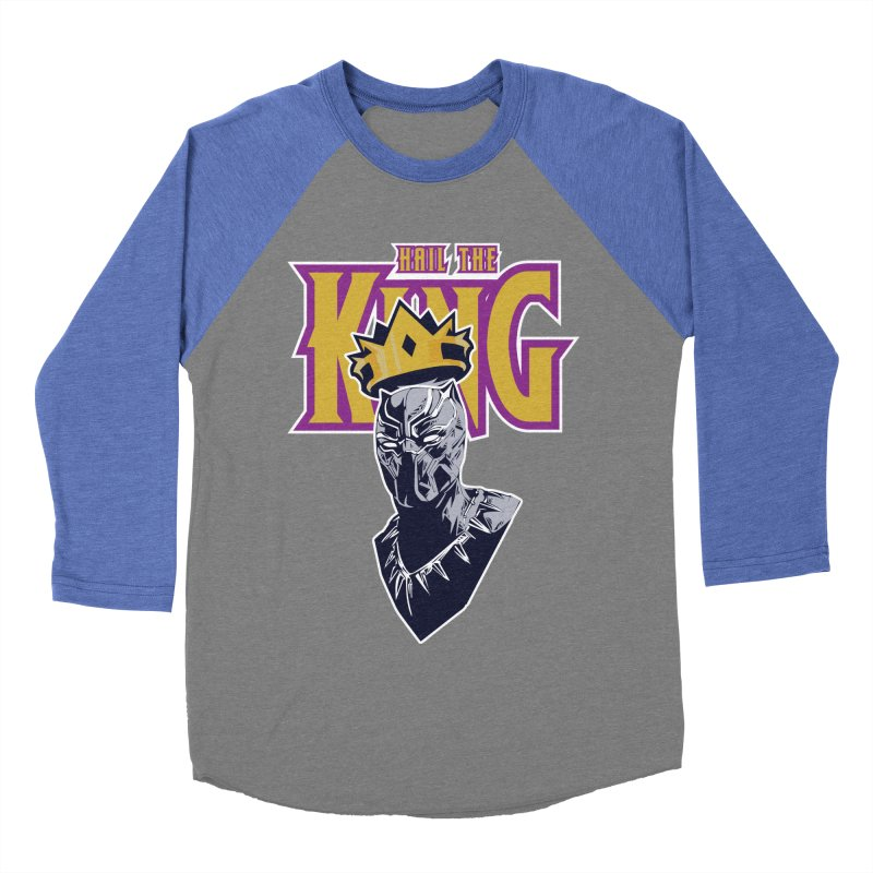 HAIL THE KING Men's Baseball Triblend Longsleeve T-Shirt by ALGS's Artist Shop