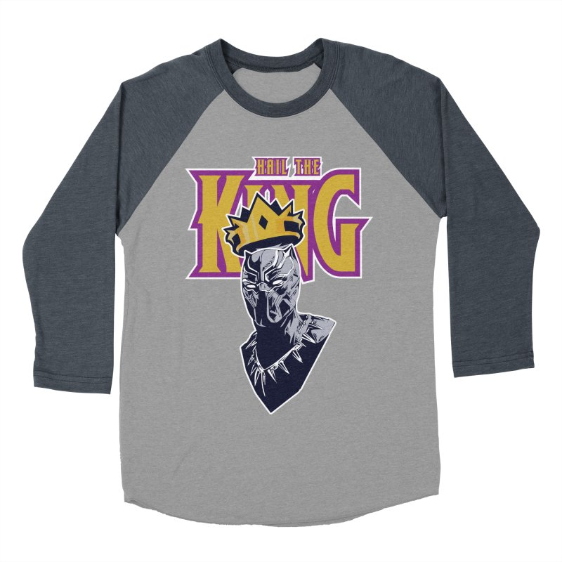 HAIL THE KING Men's Baseball Triblend T-Shirt by ALGS's Artist Shop